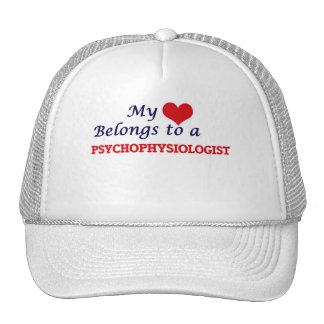 Meu coração pertence a um Psychophysiologist Boné