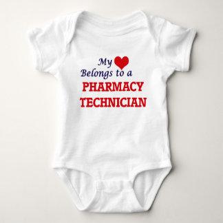 Meu coração pertence a um técnico da farmácia body para bebê