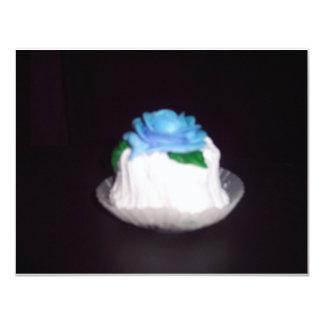Meu cupcake convite 10.79 x 13.97cm