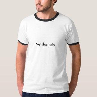 Meu domínio camiseta