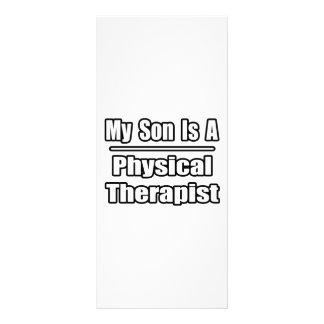 Meu filho é um fisioterapeuta panfletos informativos personalizados
