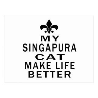 Meu gato de Singapura faz a vida melhor
