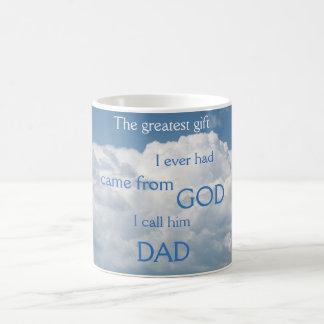 Meu grande presente é caneca do pai