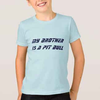Meu irmão é um pitbull camiseta