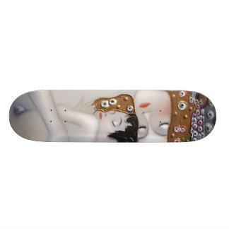 Meu Klimt Serie: Mãe & criança Shape De Skate 20cm