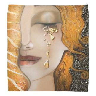 Meu Klimt Serie: Ouro Bandana