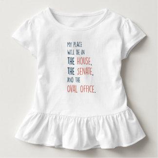 Meu lugar no t-shirt da criança do governo camiseta infantil