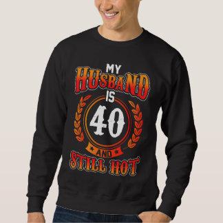 Meu marido é 40. Grande camisa do aniversário para