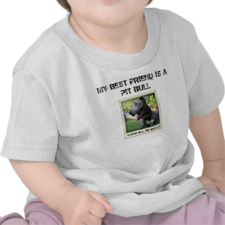 Meu melhor amigo é um pitbull t-shirt