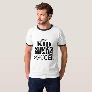 Meu miúdo joga a camisa do #SoccerDad do futebol