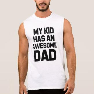 Meu miúdo tem uma camisa engraçada do pai