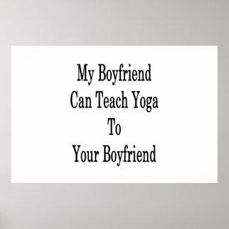 Meu namorado pode ensinar a ioga a seu namorado pôster