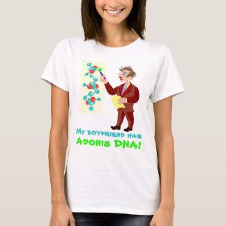 Meu namorado tem a camisa do ADN de Adonis