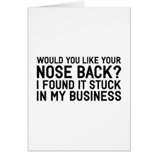 Meu negócio cartão