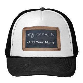 Meu nome é… Adicione seu nome - chapéu Boné