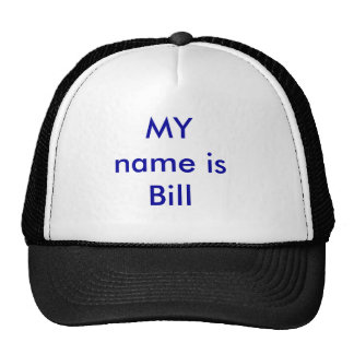 MEU nome é Bill Boné