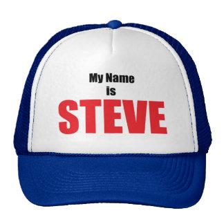 Meu nome é Steve Boné