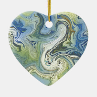 Meu ornamento sempre cerâmico do amor