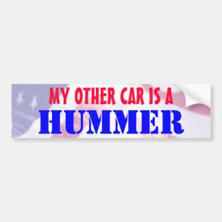 Meu outro carro é Hummer Adesivo Para Carro