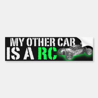 meu outro carro é um Rc Adesivo Para Carro