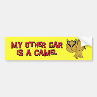 Meu outro carro é uns desenhos animados de Schnozz Adesivo Para Carro