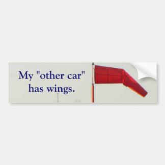 """Meu """"outro carro"""" tem o autocolante no vidro trase adesivo para carro"""