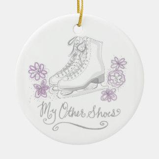 Meu outro ornamento do patinagem artística dos