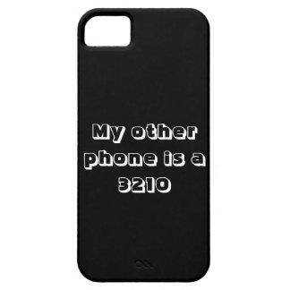 Meu outro telefone é uns 3210 capa barely there para iPhone 5