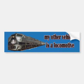 Meu outro veículo é IC locomotivo Adesivo Para Carro