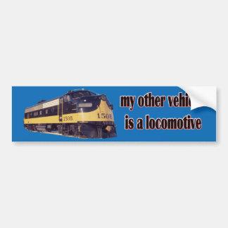 Meu outro veículo é uma locomotiva ARR Adesivo Para Carro