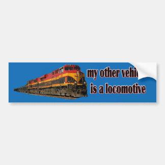 Meu outro veículo é uma locomotiva KCS Adesivo Para Carro