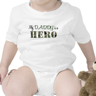 Meu PAI é um HERÓI T-shirts