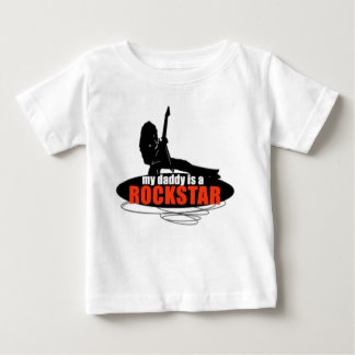 Meu pai é um t-shirt de Rockstar Camiseta Para Bebê