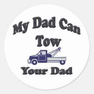 Meu pai pode rebocar seu pai adesivo