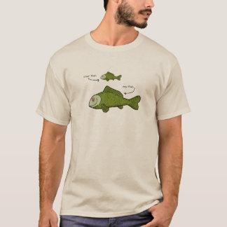 Meu peixe é MAIS GRANDE Tshirts