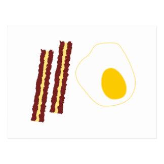 Meu pequeno almoço cartão postal