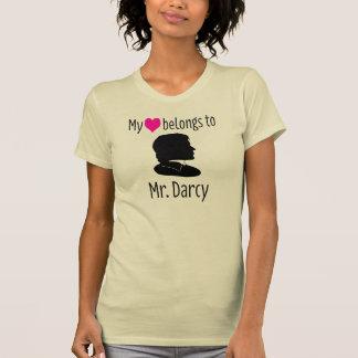 Meu ♥ pertence ao Sr. Darcy Camiseta