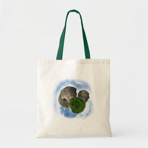 Meu planeta das rochas! bolsas para compras