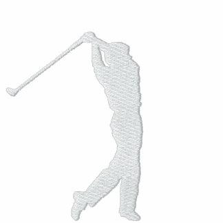Meu pólo Monogrammed Três-Inicial do golfe do espo Camisas Polo Bordadas