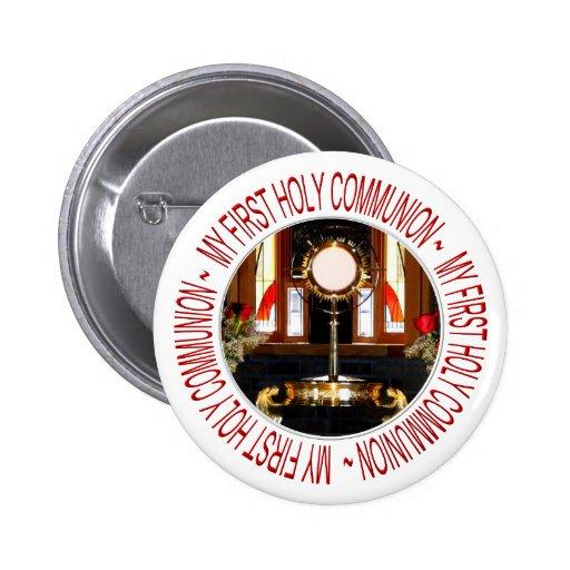 Meu primeiro comunhão santamente botons