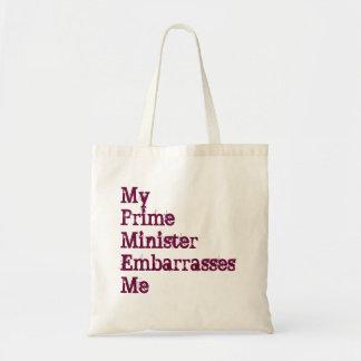 Meu primeiro ministro estorva-me o bolsa