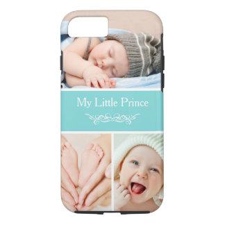 Meu príncipe pequeno Bebê Miúdo Foto Colagem Capa iPhone 7