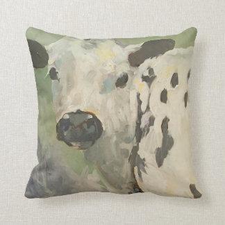 Meu próprio travesseiro da vaca do bebê da terra almofada