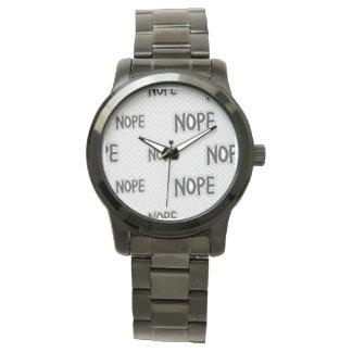 Meu relógio do nope