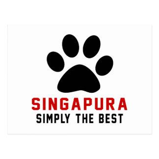 Meu Singapura simplesmente o melhor Cartão Postal
