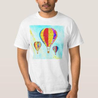 Meu t-shirt bonito dos balões