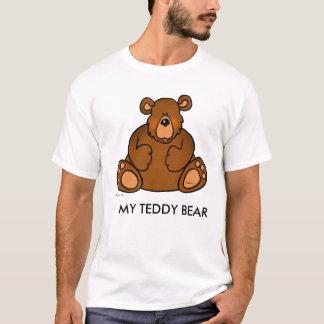Meu t-shirt do urso de ursinho para homens camiseta