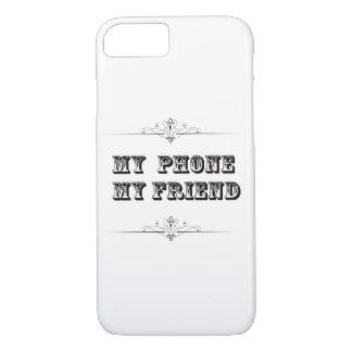 Meu telefone minha capa de telefone do amigo