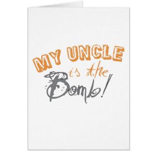 meu tio é a bomba cartão