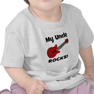 Meu tio Rocha! com guitarra Tshirt